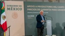 Anuncia la Sader precios de garantía para granos básicos