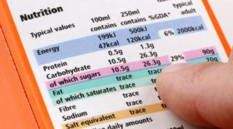 Etiquetado de alimentos, determinante en la elección de alimentos saludables