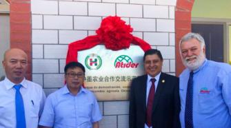 China y México inauguran parque piloto de sistema de agricultura orgánica