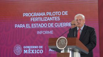 Programa de Fertilizantes para garantizar la seguridad alimentaria en zonas marginadas de México: Sader
