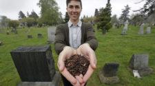 Restos humanos podrían convertirse en abono orgánico